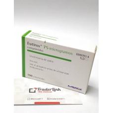 Eutirox 75 mcg x 100 Comprimidos