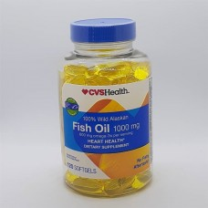 Fish Oil 1000 Mg x 600 Mg Omega 3 x 120 Softgels