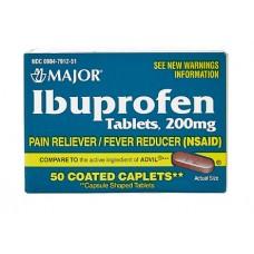 Ibuprofen 200 Mg x 50 Copated Caplets