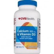 Calcium 600 Mg x Vitamin D3 x 120 Tablets